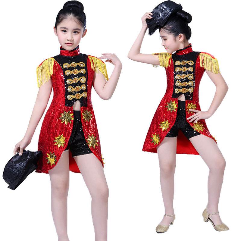 Kids Stage Costumes Jazz Dance Costumes Hip Hop Dance Street Performing T Stage Showing Clothing Kids Stage Costumes Bl1154 Home