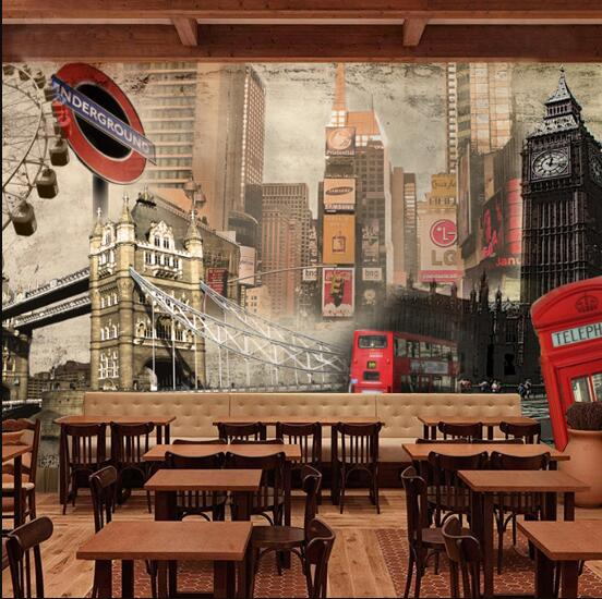 big size wall picture for whole wall wallpapers england vintage view wall mural big picture atlas
