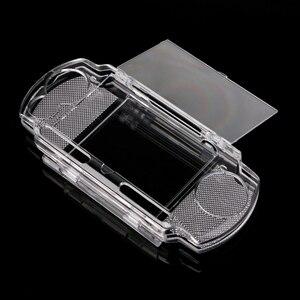 Image 5 - حافظة واقية من الكريستال الشفاف لحمل الأشياء الصلبة حافظة للحامل مصنوعة من السيليكون لحماية الأشياء الإضافية حقائب لحمل أجهزة سوني بلاي ستيشن PSP 2000 3000