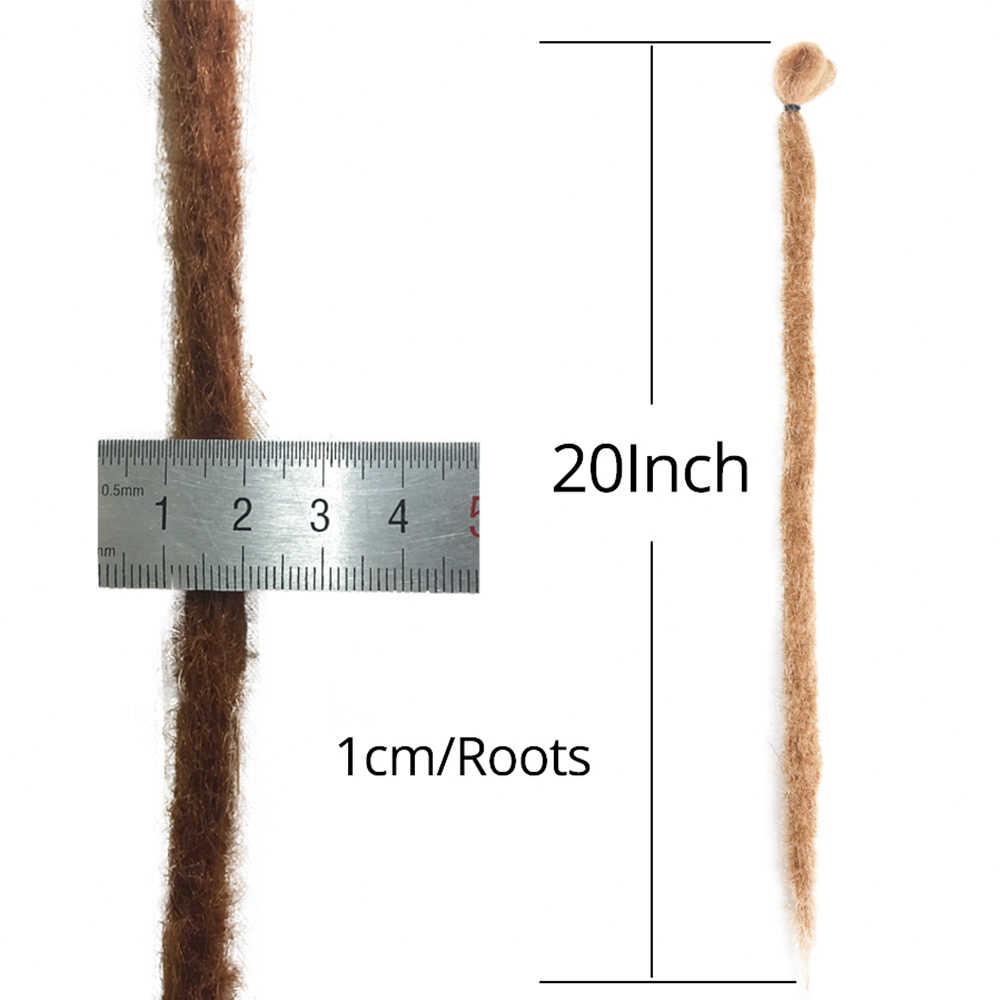 Alileader Weich Häkeln Haar Zöpfe Bunte Dreadlocks Haar Extensions Hohe Temperatur Synthetische Flechten Haar