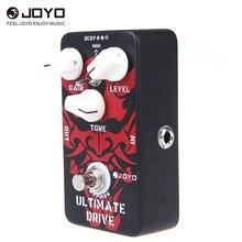 JOYO JF 02 기타 이펙트 페달 능가 다이오드 튜브 앰프 Ultimate Drive 오버 드라이브 기능 경계 왜곡 오버 드라이브