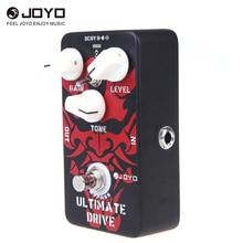 JOYO JF 02 pedał efektów gitarowych przechodzące diody wzmacniacz rurowy Ultimate Drive Overdrive funkcje Overdrive graniczo on distortion