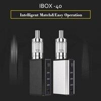 100% Original LEXINTONG IBOX 40 starter kit electronic cigarette kit portable IBOX 40 2ml