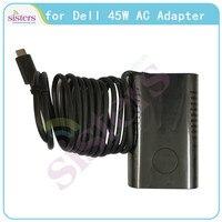 13 45 W Adaptador de Energia AC para Dell XPS 9333 12 L221X 2.31A 11 19.5 V Originais Adaptador De Energia para 7437 7348 CDF57 0CDF57 LA45NM131