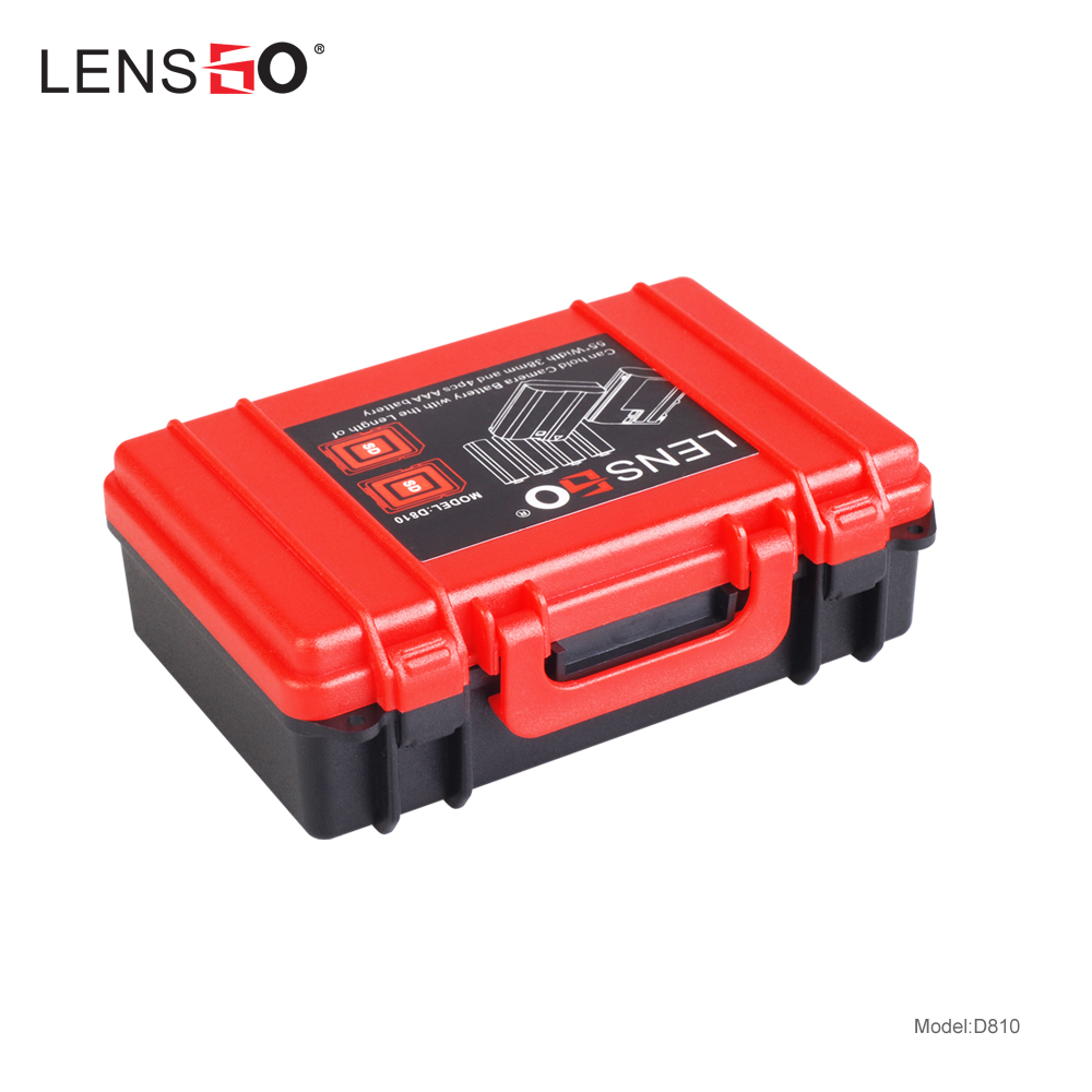 LENSGO Camera Memory Card Case Battery Multifunction Plastic Holder SD CF XQD Card Storage Box For Canon Sony Fuji Nikon Olympus