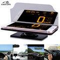 Автомобиль HUD Heads Up Display Автомобилей Держатель Stander Универсальный для IPhone GPS Навигации Мобильный Телефон Изображения Отражатель Проектор