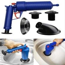 High Pressure Air Blowing Drain Blaster Toilet Pump Dredge Sink Pipe Clog Remover