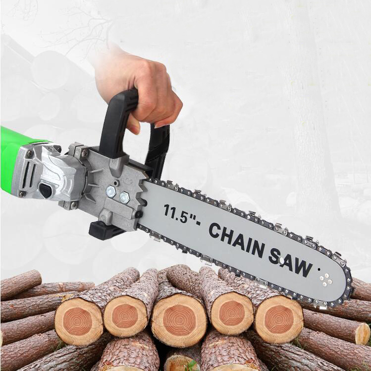 Multi-function Portable Logging Chain Saw Silver Free Shipping /& Best Price!!
