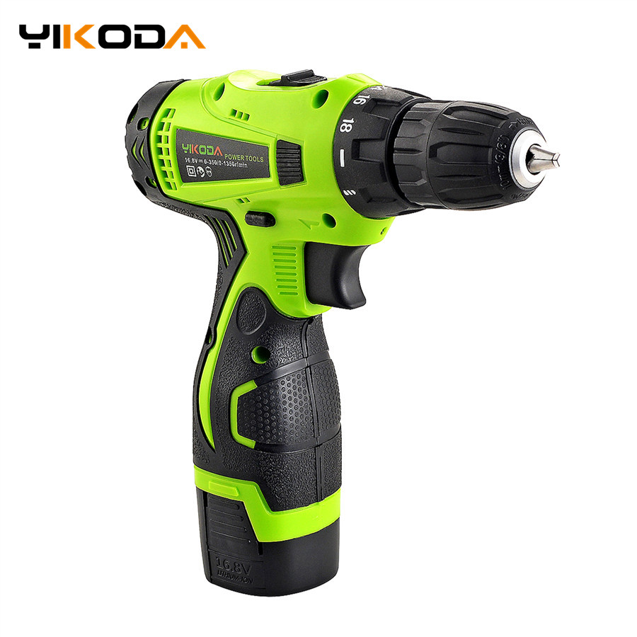 16 8V Electric Drill Lithium Battery Double Speed DIY Cordless Drill Household Multi function Electric Screwdriver