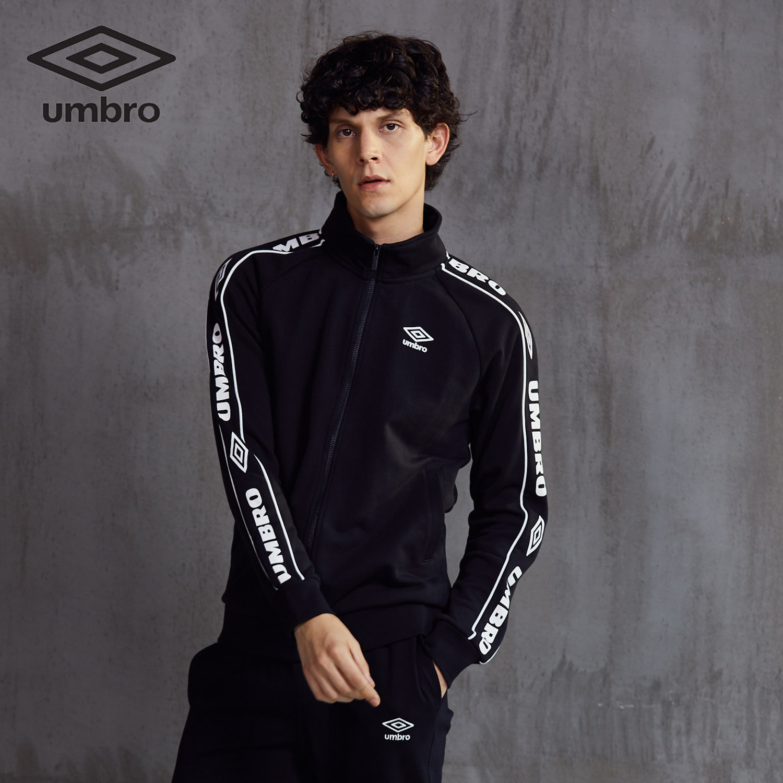 Image 2 - Umbro 2018  New  Men Sports Jacket Sweater Coat Zipper Collar  Male Classic Sportswear Leisure Breathable Jacket  Uo183ap2409Trainning