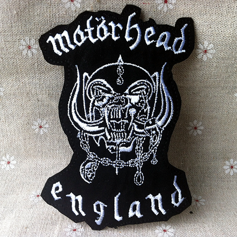 Heavy metal punk band badge fabric clothes patch stickers embroidery needle wholesale in patches from home garden on aliexpress com alibaba group