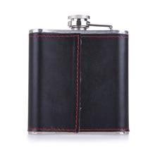 6oz Portable Stainless Steel Pocket Hip Flask Flagon Whiskey Wine Pot Bottle + Funnel Travel Tour Classic Drinkware