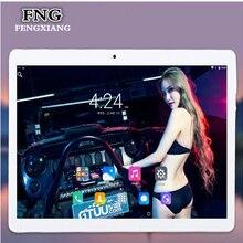 Free shipping 10.1 inch tablet pc Android 7.0 RAM 4GB ROM 64GB Dual SIM Bluetooth GPS 1920*1200 IPS Smart tablets pcs 7 8 9