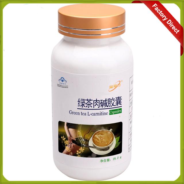 2016 Venta Caliente 1 botella (420 mg X60 caps) Té Verde l-carnitina