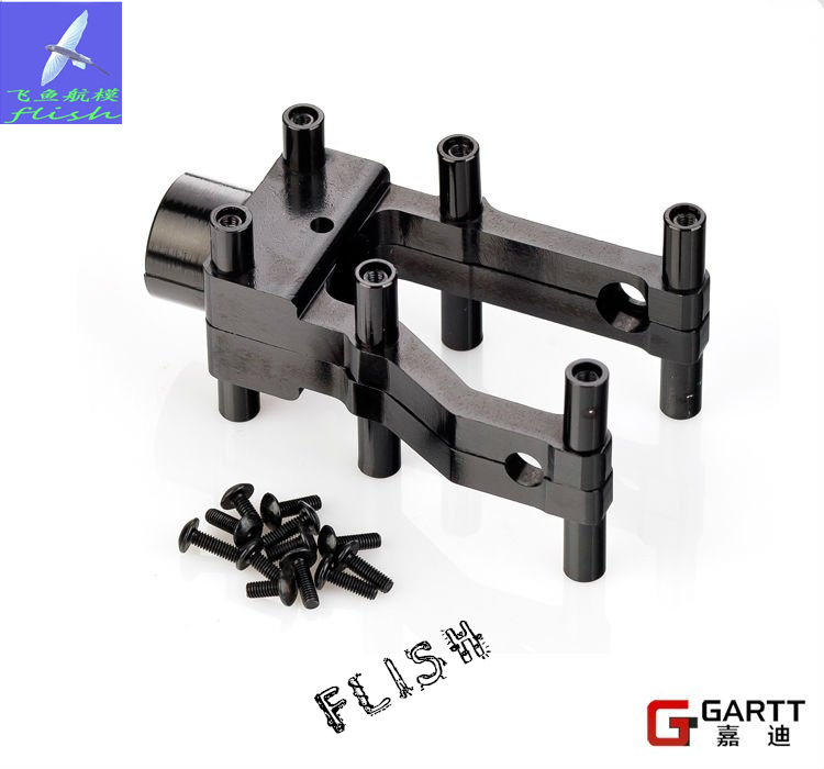GARTT GT500 Metal Tail Boom Holder 100% Compat Align Trex 500 align trex 500dfc main rotor head upgrade set h50181 align trex 500 parts free shipping with tracking