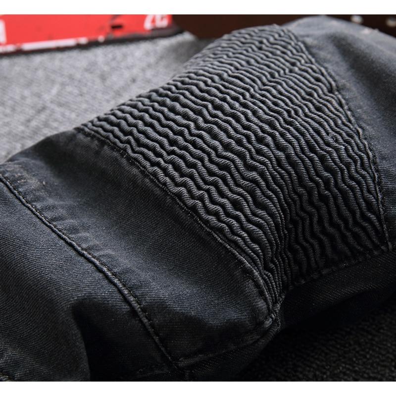 Meeste moelooja disainer Ripped Biker Jeans Mehed Distressed Moto - Meeste riided - Foto 6
