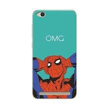Soft TPU Case Cover For Xiaomi Redmi 5A 5.0″ Marvel Avengers Charming Design Phone Cases Coque For Redmi 5A 5 A Case Capa Funda