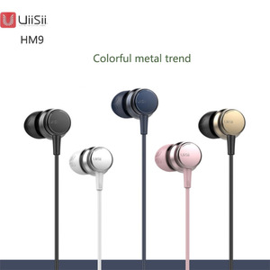 Image 5 - UiiSii HM9 Hot Selling Wired Noise Cancelling Dynamic Heavy Bass Music Metal In ear with Mic Earphone for iphone Xiaomi Samsung