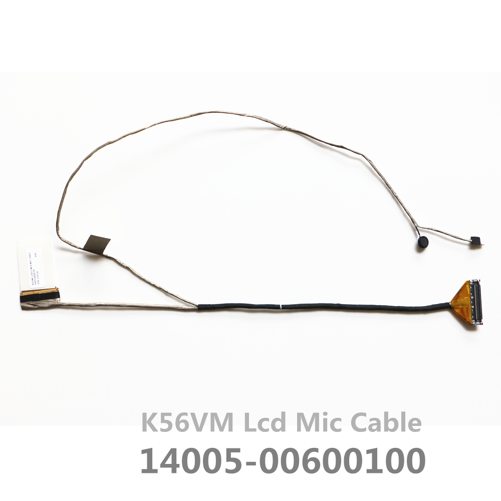 New K56vm 14005-00600100 Lcd MIC Lvds Cable For Asus K56 K56C K56CM K56CA S56C Lcd Lvds Cable