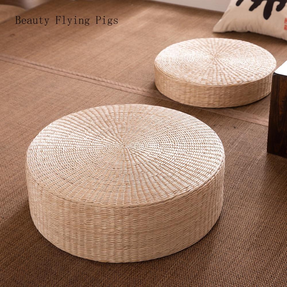 HTB1JWlGe21H3KVjSZFBq6zSMXXa0 Rattan tea ceremony worship Buddha pad meditation thickening meditation pupa meditation sitting futon cushion tatami yoga mat
