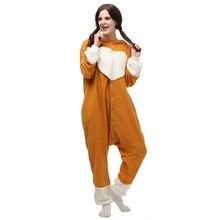 Big dog Animal pijamas salón del sueño Adulto Unisex Kigurumi Pijamas Cosplay Onesies Animales ropa de Dormir