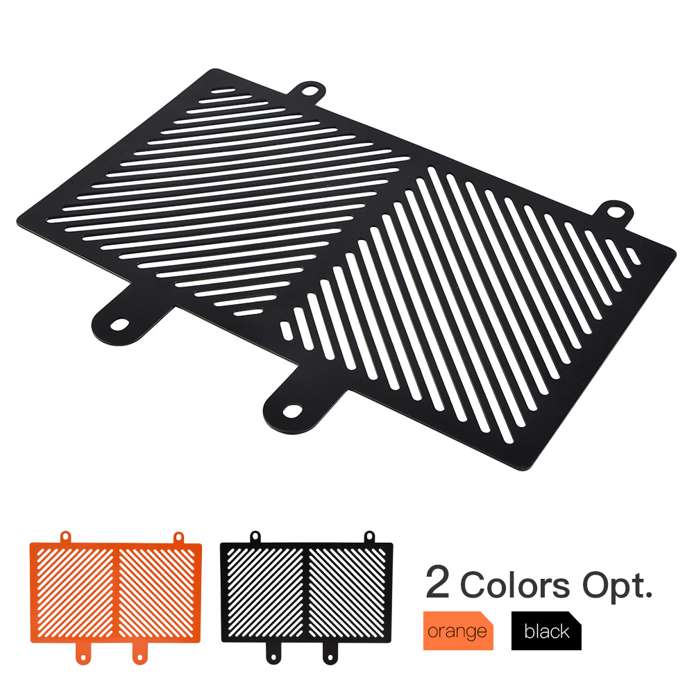 NICECNC Aluminum Radiator Grill Grille Guard Cover Protector For KTM RC 125 200 390 2015 2016 2017 2018 RC125 RC200 RC390 nicecnc motorcycle cnc rear axle blocks chain adjuster for ktm rc 125 200 390 duke 2011 2015 2016 2017 2018 rc125 rc200 rc390
