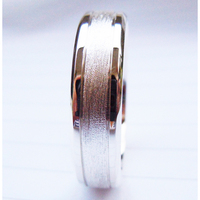 Tailor Made Mens Grooved Solid 925 Sterling Silver Wedding Band Ring Size 4 16 R027