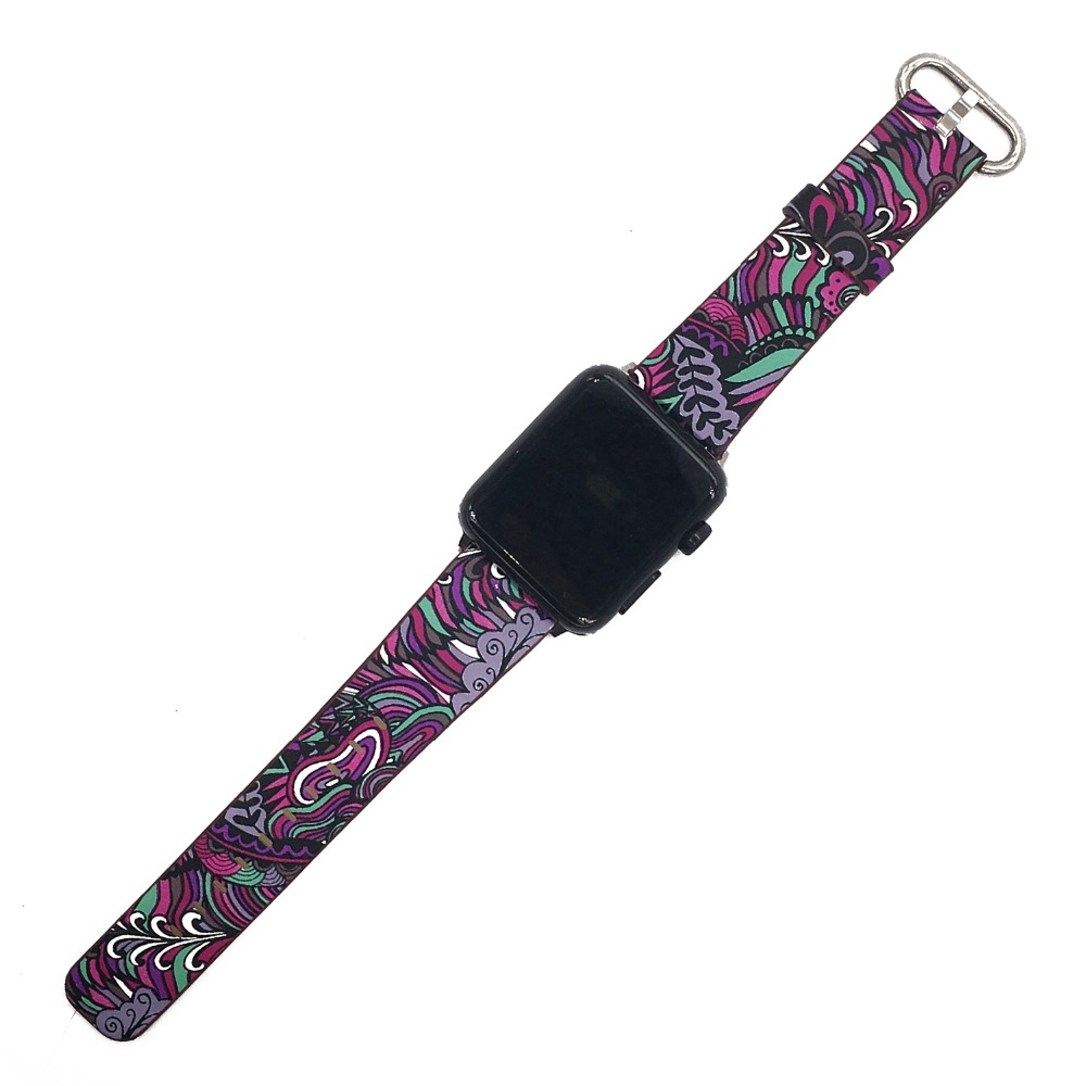 Floral Print Band for Apple Watch 28