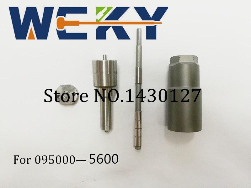 Top Quality! Repair Kit Common Rail Kit(Nozzle DLLA145P870 +Orifice plate+Control rod+ Nut) For Injector 095000-5600 1465A041 1 piece new injector valve plate for injector 095000 5600