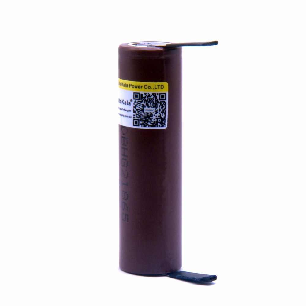2019 Liitokala 18650 Аккумуляторная Батарея 3000 mAh Батарея 18650 HG2 3,6 V разряд 30A посвященный для электронной сигареты Мощность батареи