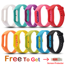 New Replacement Strap For xiaomi mi band 2 Smart Bracelet Silicone Wrist Strap For MiBand 2 Smart Band Wristband Colorful Belt boorui colorful diamond miband 2 strap newest silicone mi 2 wrist strap correa mi band 2 smart bracelet wristband replacemet