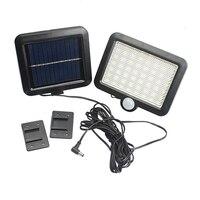 Waterproof PIR Motion Sensor 56 LED Solar Light Solar Powered 2835 SMD Outdoor LED Garden Light