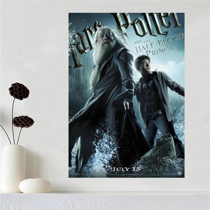 Custom canvas poster Art Harry Potter Home Decoration poster cloth fabric wall poster print Silk Fabric Print SQ0527