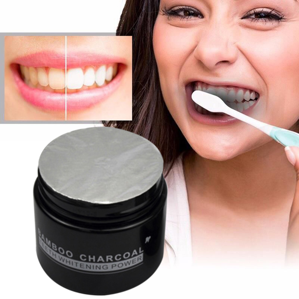 Premium Activated Bamboo Charcoal Powder Teeth Whitening