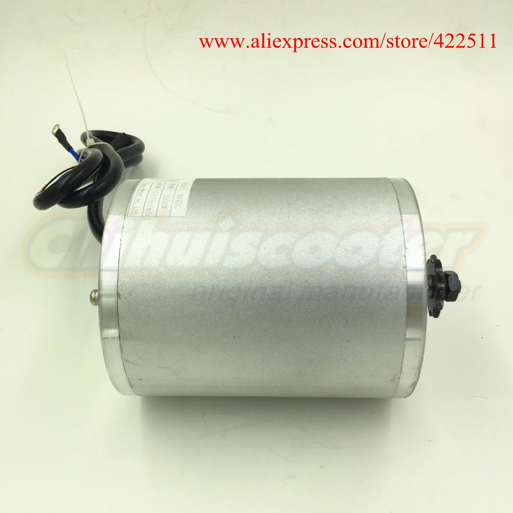 Image 2 - New 2000W 60V Brushless DC Motor Electric Scooter BLDC Motor 2000W 60V Electric Motor ( Electric Scooter Spare Parts)-in Scooter Parts & Accessories from Sports & Entertainment