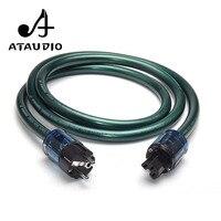 ATAUDIO Hifi Power Cable High Purity OCC Power Cord With European Power Plug