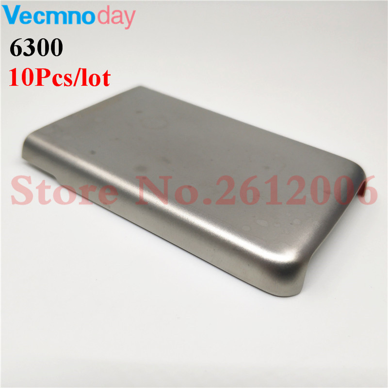 10Pcs/lot High-quality Original Back Metal Battery Cover For <font><b>Nokia</b></font> <font><b>6300</b></font> Battery Back Door Cover Case <font><b>Housing</b></font> image
