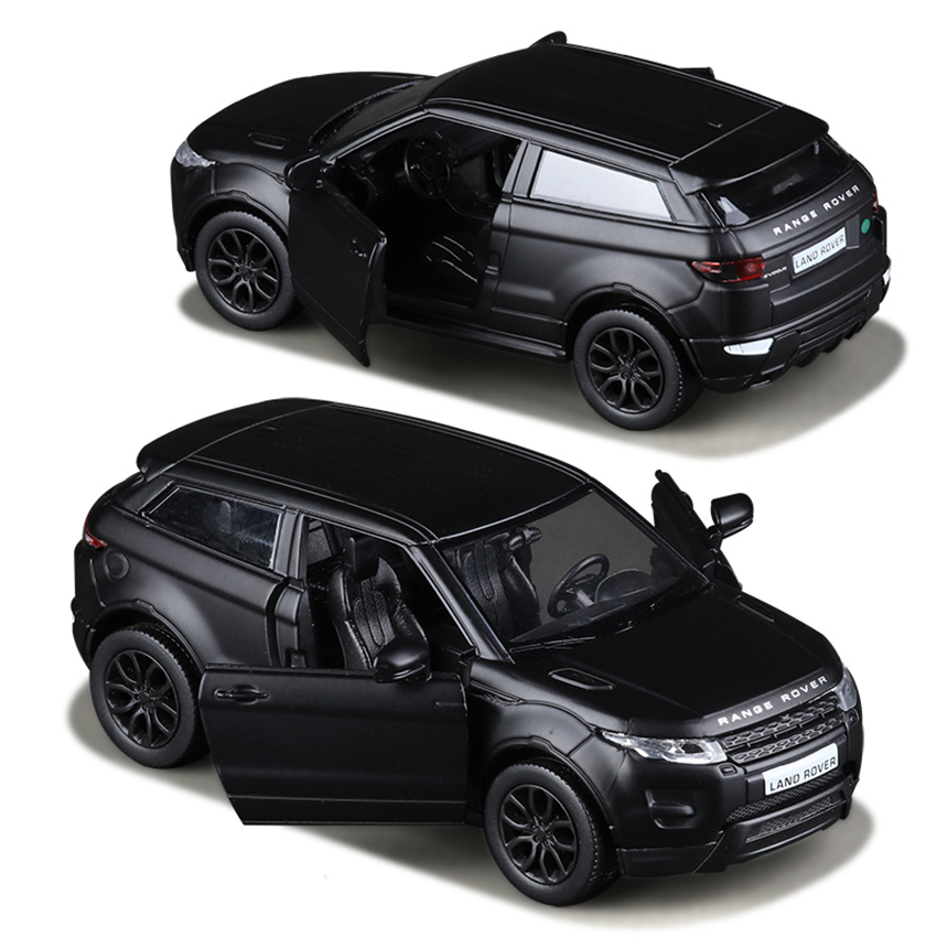 R Matte Black 1:36 Aurora Toy Vehicles Alloy Pull Back Mini Car Replica Authorized By The Original Factory Model Toys Collection