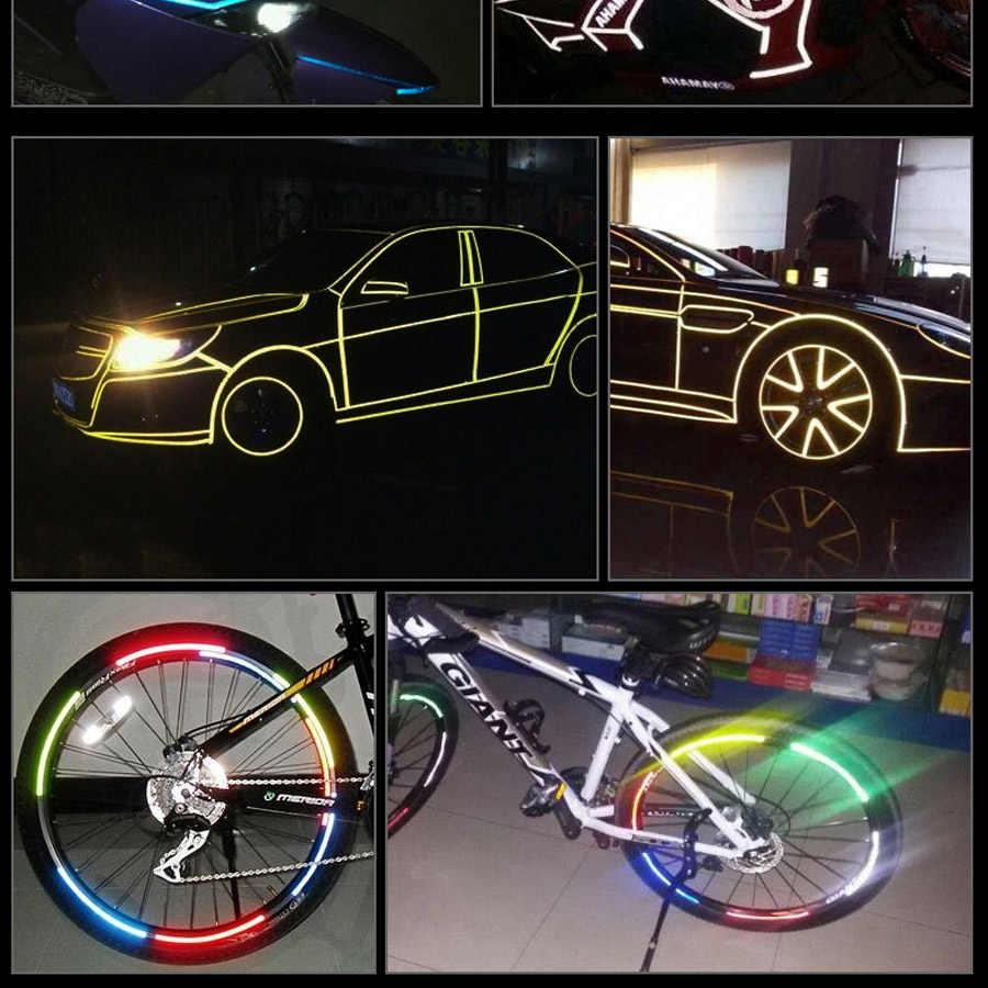 الشريط ملصقات عاكسة على دراجة دراجة اكسسوارات دراجة ملصقات عاكس دراجة سانتا كروز عجلة ملصق عاكس