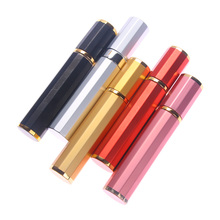 Bottle-Spray Perfume-Tools Cosmetic-Container Refillable Aluminum Empty Travel 8ML Polygon