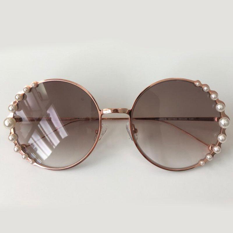 Sunglasses no3 Neue 2018 De Sol No1 Sunglasses Feminino Perle Designer Qualität Vintage Frauen Sunglasses Oculos Sonnenbrille Hohe Marke Sunglasses Runde no4 no2 4wqwdT