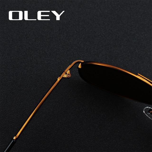 OLEY Classic Pilot Sunglasses 3