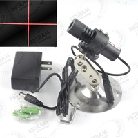 650MC 40 2270 5V BL Focusable Adjustable 650nm 40mW Red Laser Cross Locator Module With Mount