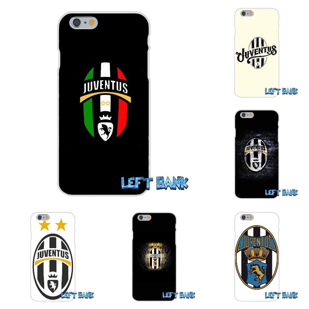 For iPhone 4 4S 5 5S 5C SE 6 6S 7 Plus Juve juventus FC Logo Soft Silicone TPU Transparent Cover Case
