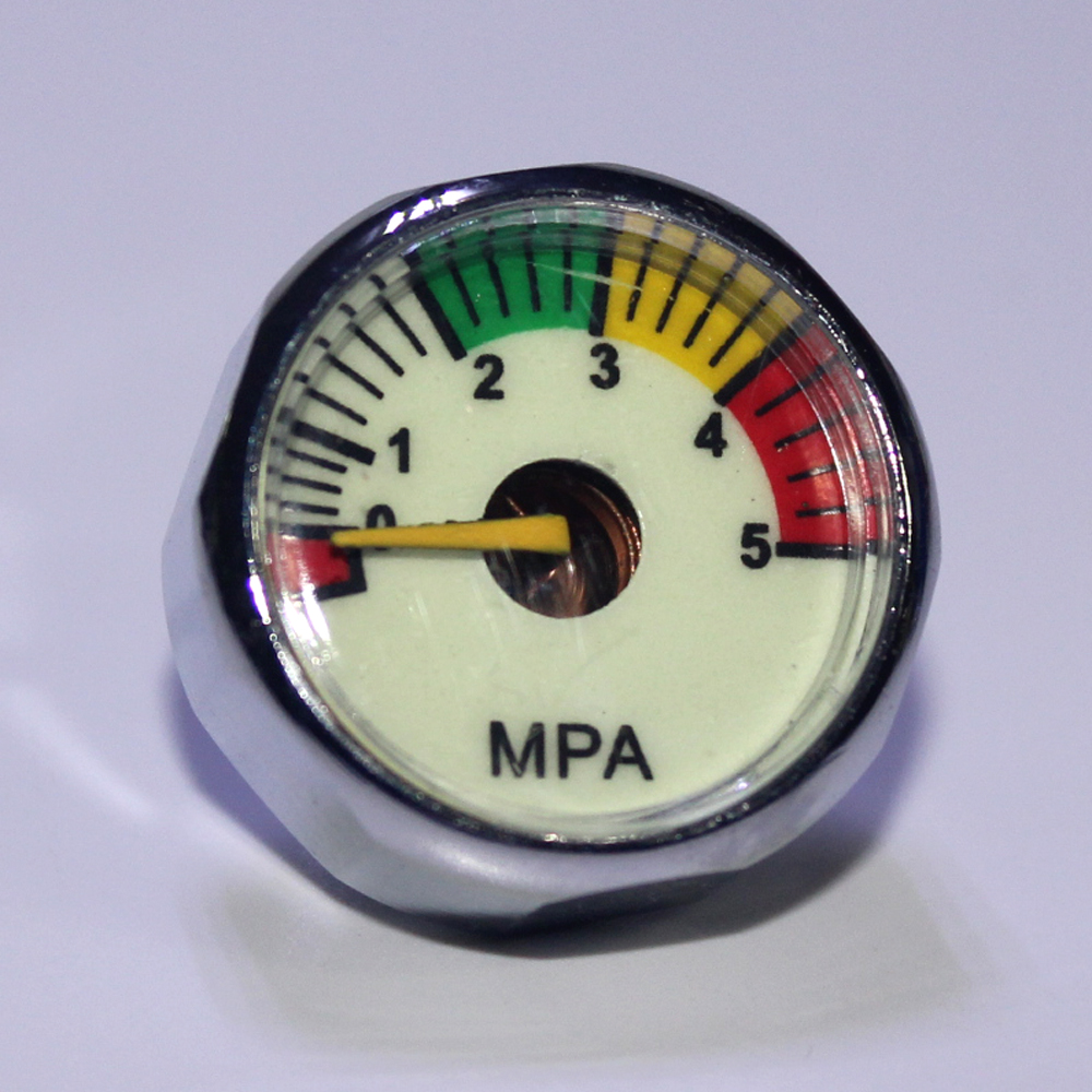 Image 4 - New Paintball Acessorios PCP Air Gun Airsoft Mini Gauge Manometer 5MPa  10MPa  20MPa  30MPa  40MPa  M10*1-in Paintball Accessories from Sports & Entertainment
