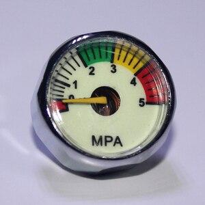 Image 4 - Nouveau Paintball Acessorios PCP pistolet à Air comprimé Mini manomètre 5MPa 10MPa 20MPa 30MPa 40MPa M10 * 1