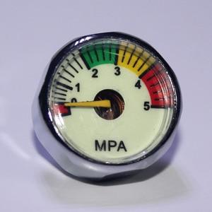 Image 4 - 새로운 paintball acessorios pcp 공기총 airsoft 소형 계기 압력계 5mpa 10mpa 20mpa 30mpa 40mpa m10 * 1