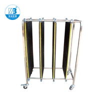 Anti static PCB Turnover Cart/Metal Rolling Utilty Turnover Cart Machine/Turnover Cart For Factory PCB Racks ZB900J for Placing