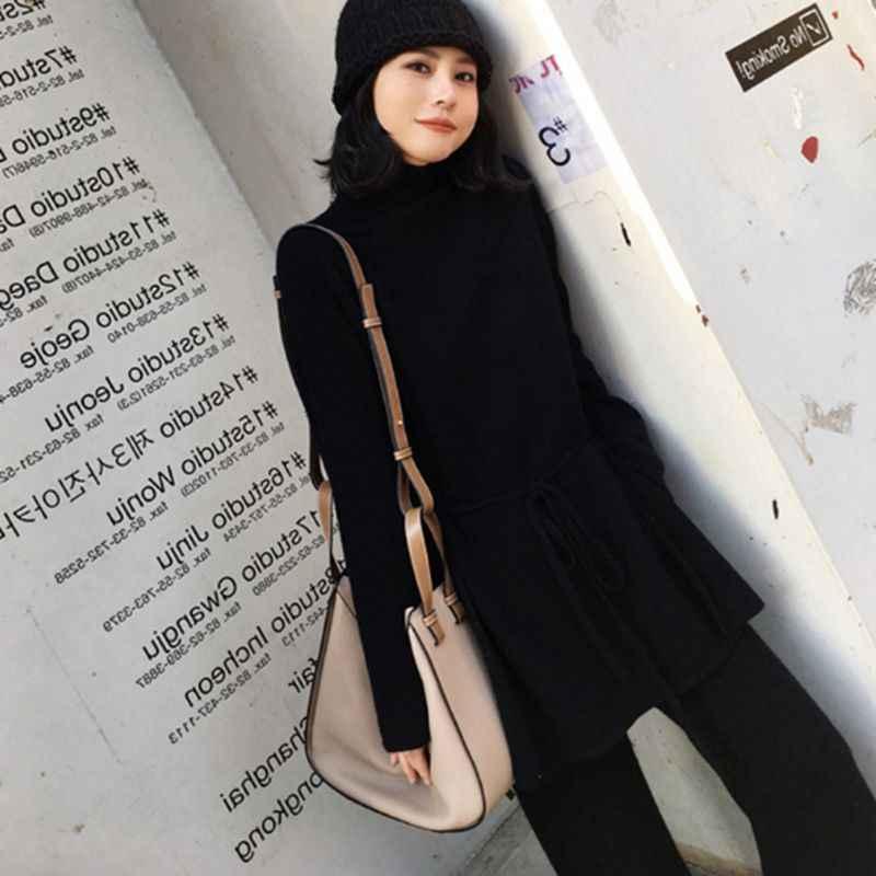 ef768dbbacf ... 2 шт. элегантный Для женщин наборы свитеров 2018 осенний свитер вязаные  штаны модные комплекты женские ...