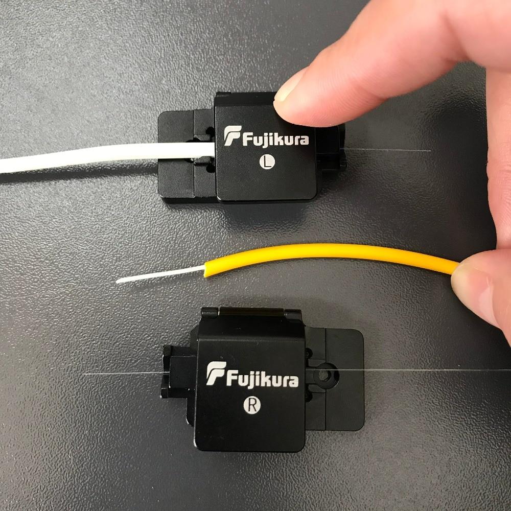3-in-1 Fujikura Fiber Fusion Splicer FSM-60S FSM-70S FSM-22S 80S 62S 70R 60R 18S Fiber Holder 250um, FTTH / 900um Fiber Holder